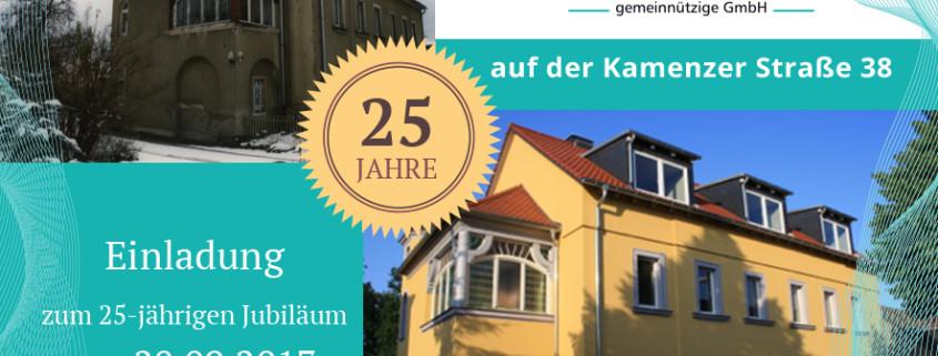25 Jahre Kamenzer Straße 38